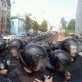"""Бійка під Українським домом - """"Беркут"""", кров та сльозогінний газ. ФОТО. ВІДЕО"""