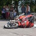 Під Житомиром причіп з телятами наїхав на мотоцикл. Є жертви