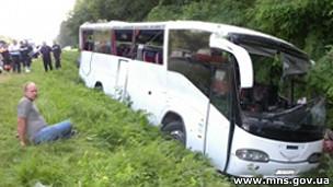 В аварії на Чернігівщині загинули 14 паломників з Росії