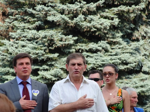 У Житомирі відбувся мітинг на захист української мови. ФОТО