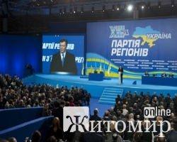 Список кандидатов в депутаты от Партии регионов