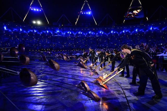 Церемонія відкриття Олімпійських ігор у Лондоні. ФОТО