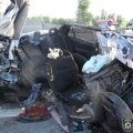 Mitsubishi влетів у фуру: четверо загиблих. ФОТО