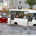 Злива перетворила Суми на Венецію. ФОТО
