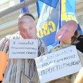 На мовному мітингу повісили Литвина і не забули про Королевську. ВІДЕО