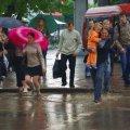 На Житомирщину завтра чекають зливи