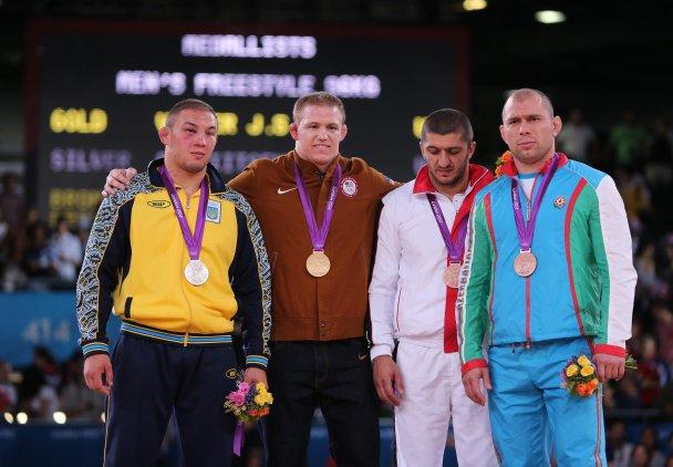Всі медалісти України на Олімпіаді-2012.