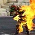 Чоловік намагався спалити рідного брата живцем