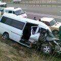 У Криму зіштовхнулись мікроавтобус і вантажівка - 17 постраждалих. ФОТО. ВІДЕО