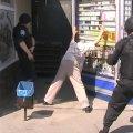 Житомирянин прийшов до магазину з вогнепальним пістолетом
