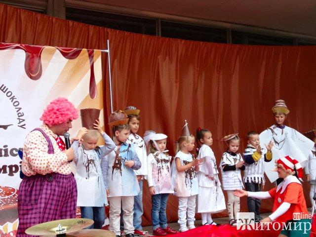 Свято шоколаду в Житомирі. ФОТО