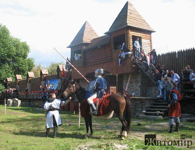 Кінний турнір у Коростені. ФОТО
