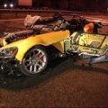 Уламки чиновницького Dodge, що розбився на швидкості 300 кмгод, розкидало на кілометр. ВІДЕО