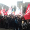 Під ЦВК розпочався мітинг опозиції. ФОТО