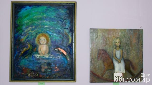 В Житомирі відкрилась художня виставка Євгенії Заброцької