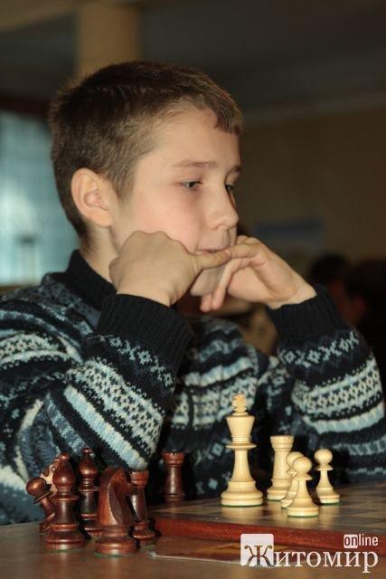 Як житомирські козаки в шахи грали: дитячий турнір. ФОТО