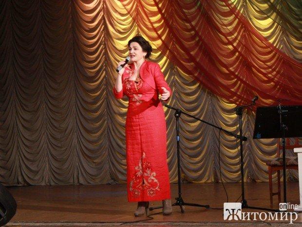 Наталія Сумська і Віктор Павлік в Житомирі співали пісні Сергія Лазо