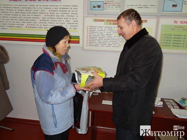 У Житомирі щасливий квиток знайшов свого власника. ФОТО