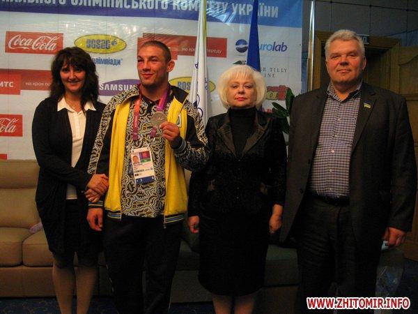 Житомирская область лишилась единственного олимпийского призера - Валерия Андрейцева