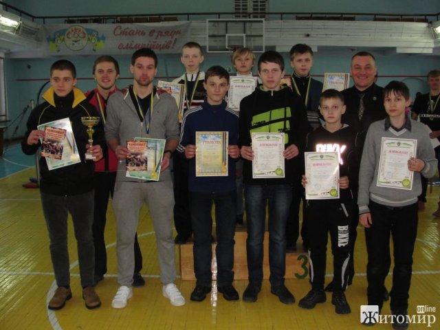 У Житомирі відбулися змагання з кікбоксингу