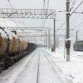 Коростенські залізничники борються зі снігом