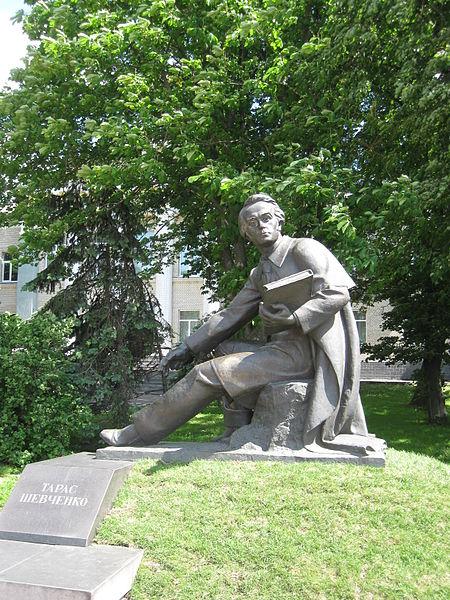 Серед 10 найцікавіших пам'ятників Шевченку в Україні, один - в Житомирській області