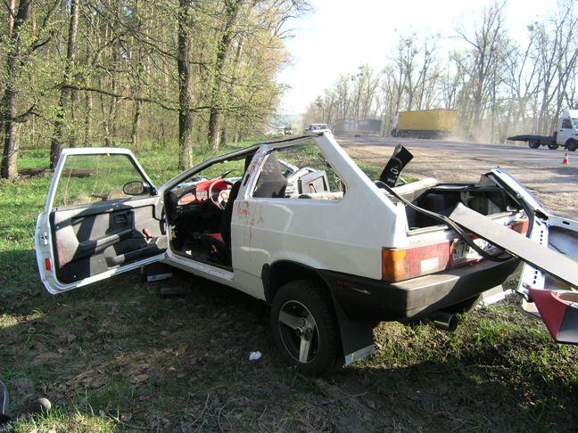 На бердичівській трасі жахлива аварія: загинули люди. ФОТО