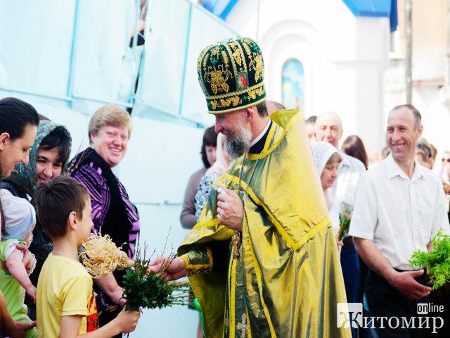 Вербна неділя у Житомирі. ФОТО