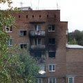 На Житомирщині у багатоповерхівці горіла квартира