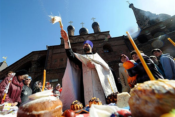 Розклад богослужінь на Великдень у Свято-Михайлівському кафедральному соборі