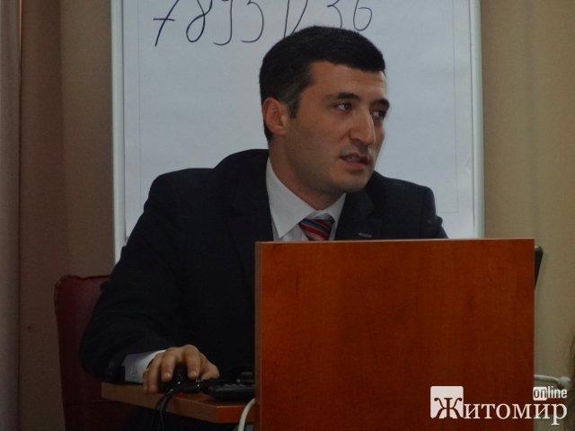 У Житомирі презентували онлайн систему навчання членів виборчих комісій. ФОТО