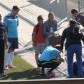 Російський тренер зламав ніс арбітру через нечесний гол. ВІДЕО