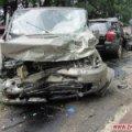 Не далеко от Житомира «в лобовую» столкнулись Mercedes и Subaru, водитель и пассажир погибли. ФОТО