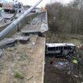 У Чорногорії румунський автобус зірвався з мосту у прірву, 13 людей загинули