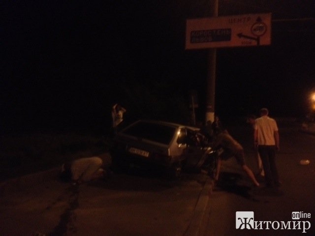 Страшне ДТП у Житомирі. ФОТО