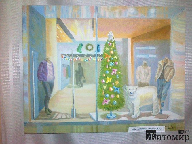 В обласній науковій бібліотеці відкрилась виставка п'ятнадцятирічної художниці