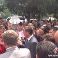 У Врадіївці новий протест: міліцейському керівництву з губернатором не вдалося вгамувати людей. ФОТО