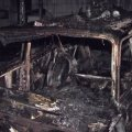 На Житомирщині через коротке замикання згоріли автомобіль, дрова та сіно