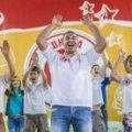 Володимир Кличко показав, як танцювати запальні танці. ВІДЕО