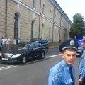 Кортеж Януковича ледь не потрапив у ДТП. ВІДЕО