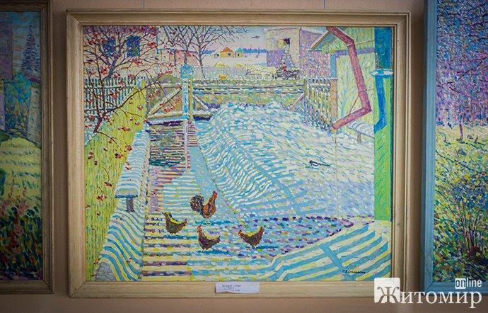 Виставка робіт Павла Опанасюка вже відкрита. ФОТО
