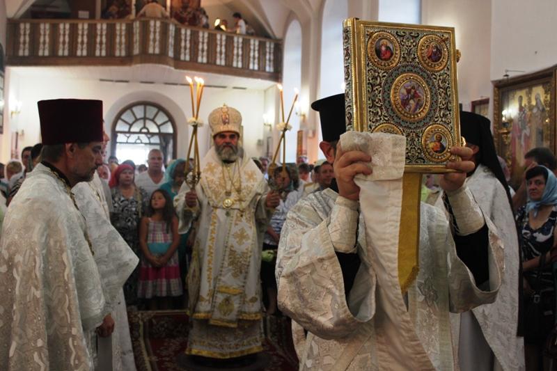Святкування Преображення Господнього в Свято-Михайлівському кафедральному соборі. ФОТО