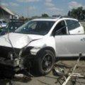 На Житомирщине пьяный мужчина угнал Mazda CX-9 и разбил её об столб... ФОТО