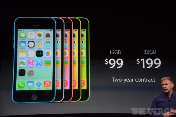Apple представив різнокольоровий дешевий iPhone 5С і потужний iPhone 5S. ФОТО