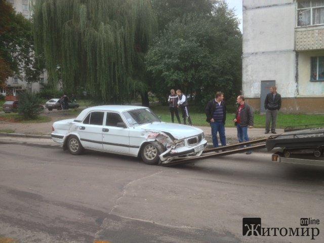 ДТП на вулиці Шевченка у Житомирі. ФОТО