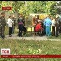 У Житомирі сім'ї військових перекрили дорогу, щоб заселитися у власні квартири. ВІДЕО