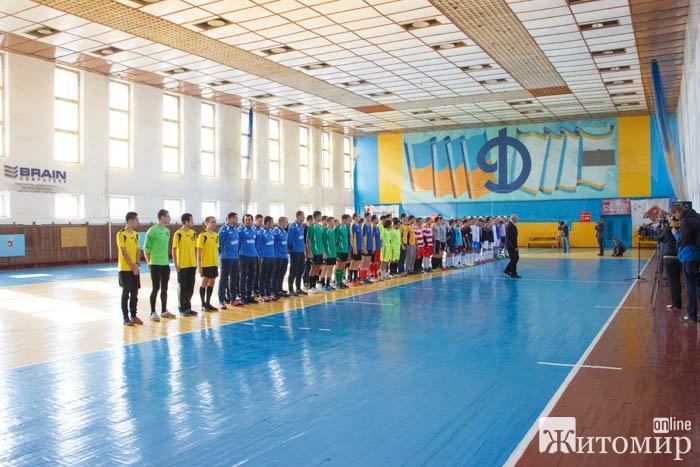 Розпочався чемпіонат міста з футзалу. ФОТО