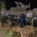 На Сумщині Toyota Prado потонула у ставку: водій загинув. ВІДЕО