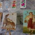 Художниця Наталія Бугайчук в картинах осучаснює українські символи. ФОТО