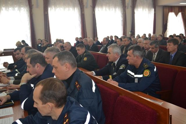 Підбито підсумки проведення командно-штабного навчання територіальної підсистеми єдиної державної системи цивільного захисту